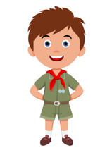 Free children kids clip. Body clipart boy's