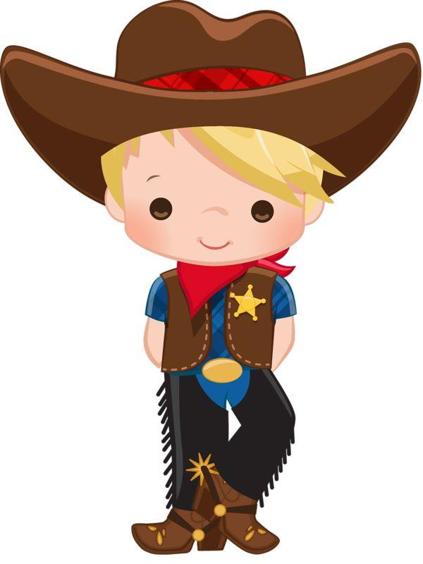 best western cowgirl. Boy clipart cowboy