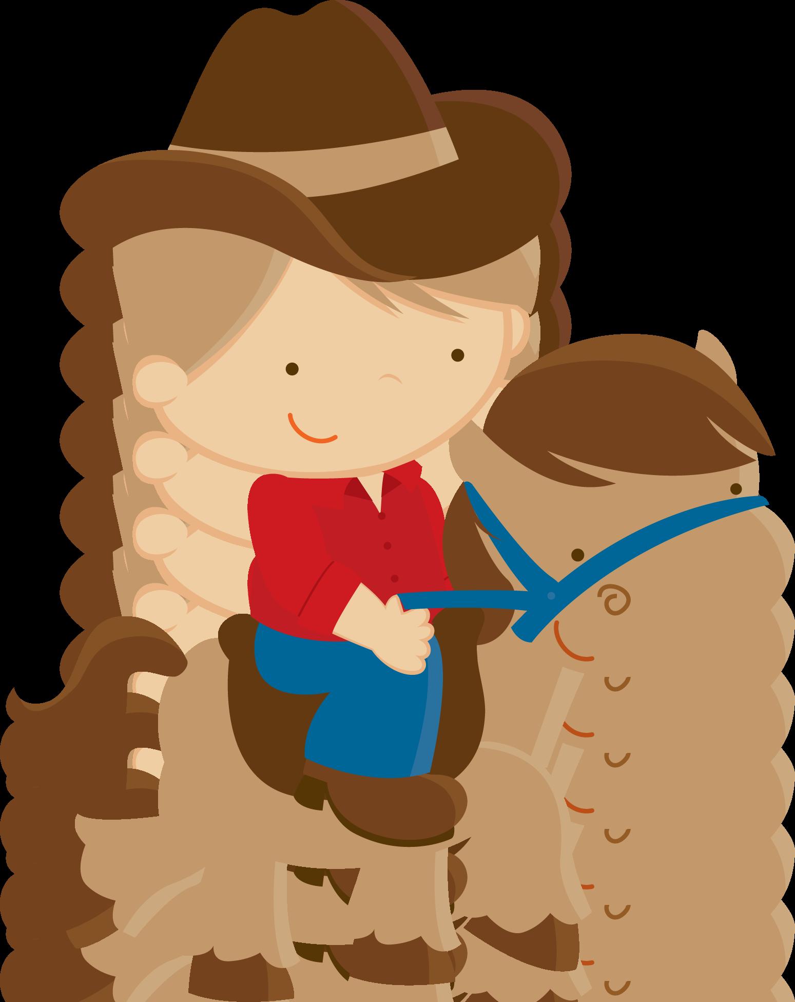 boys clipart cowboy #34900143