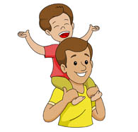Boy clipart dad. Search results for child