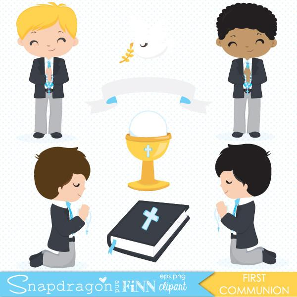 Boys clipart first communion. Boy snapdragonandfinn
