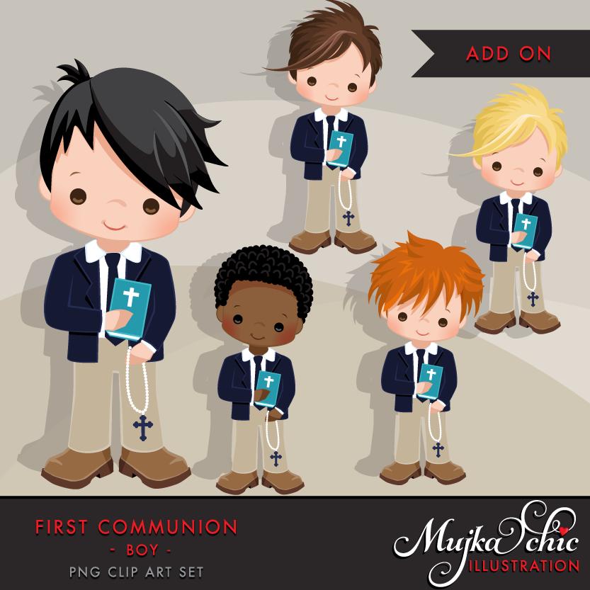 For add on mujka. Boys clipart first communion
