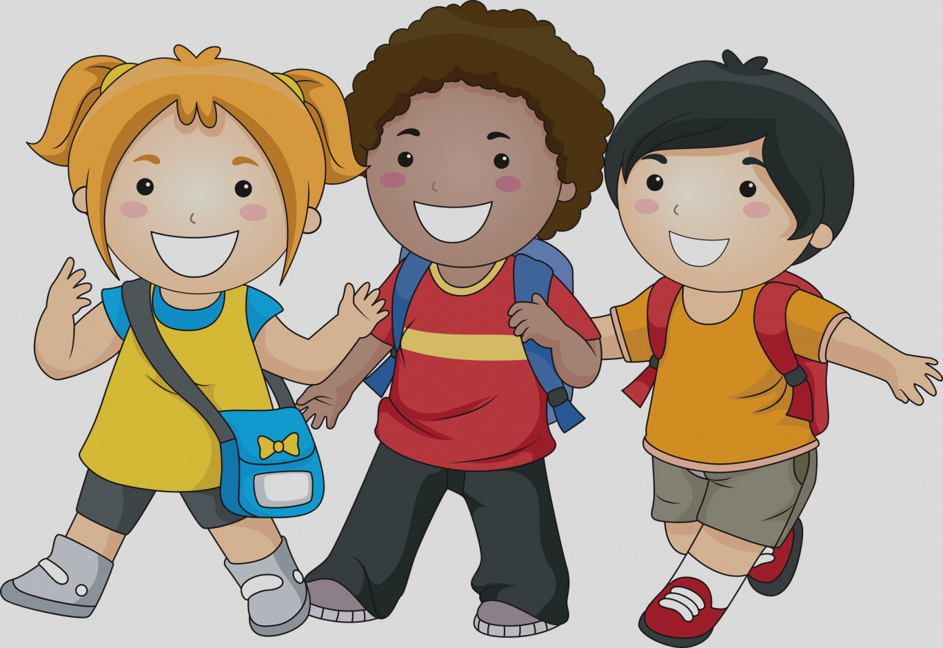 Awesome clip art templates. Boy clipart friendship