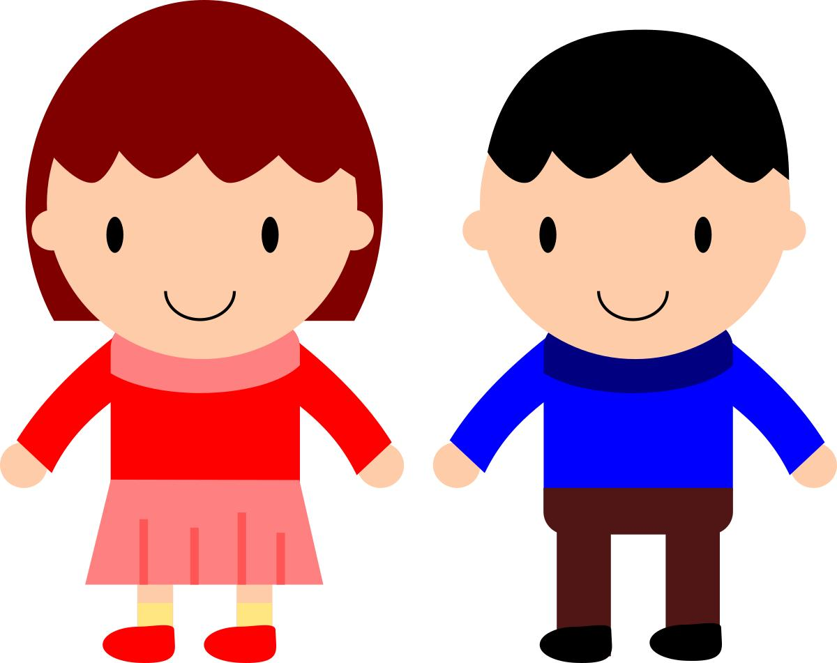 Boy clipart friendship. Girl and design droide