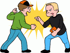 Boy clipart friendship. Friends clip art fighting