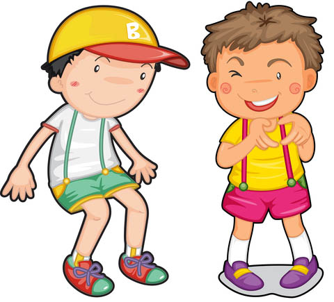 Friendship friends boys kid. Friendly clipart two little