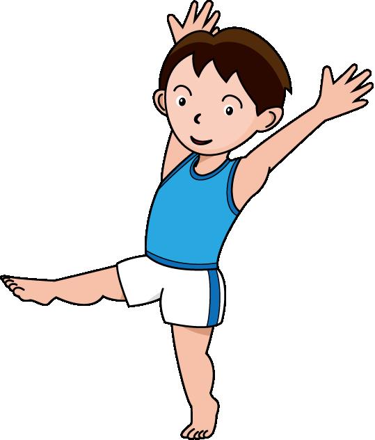 Gymnastics clip art boy. Olympic clipart kid