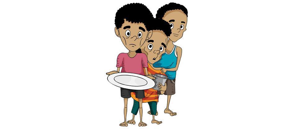 Hungry clipart malnutrition. Child the problem looking