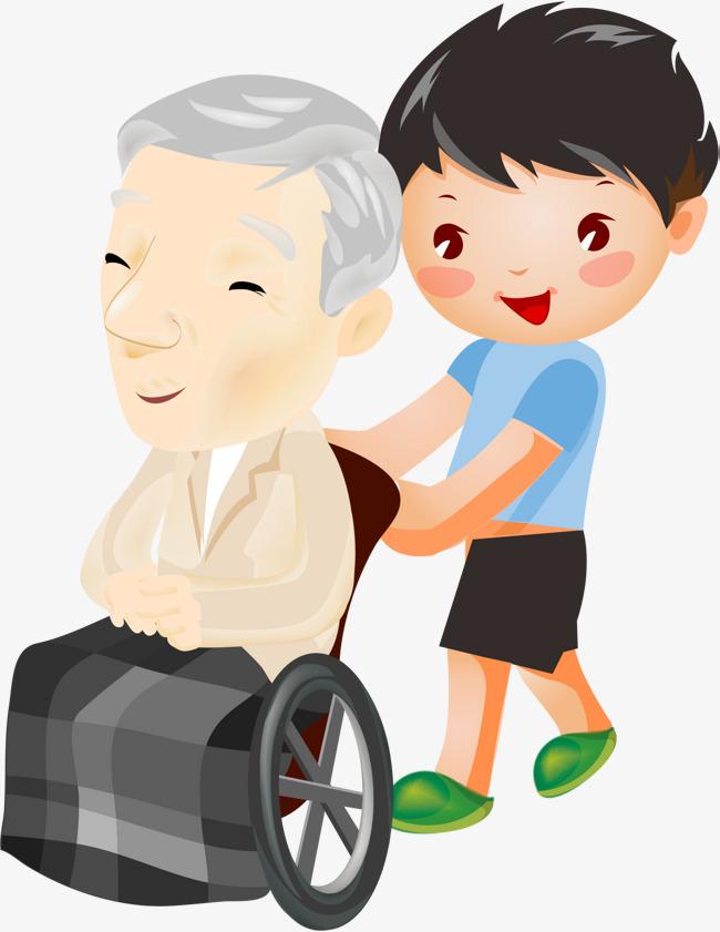 Wheelchair old little png. Boy clipart man