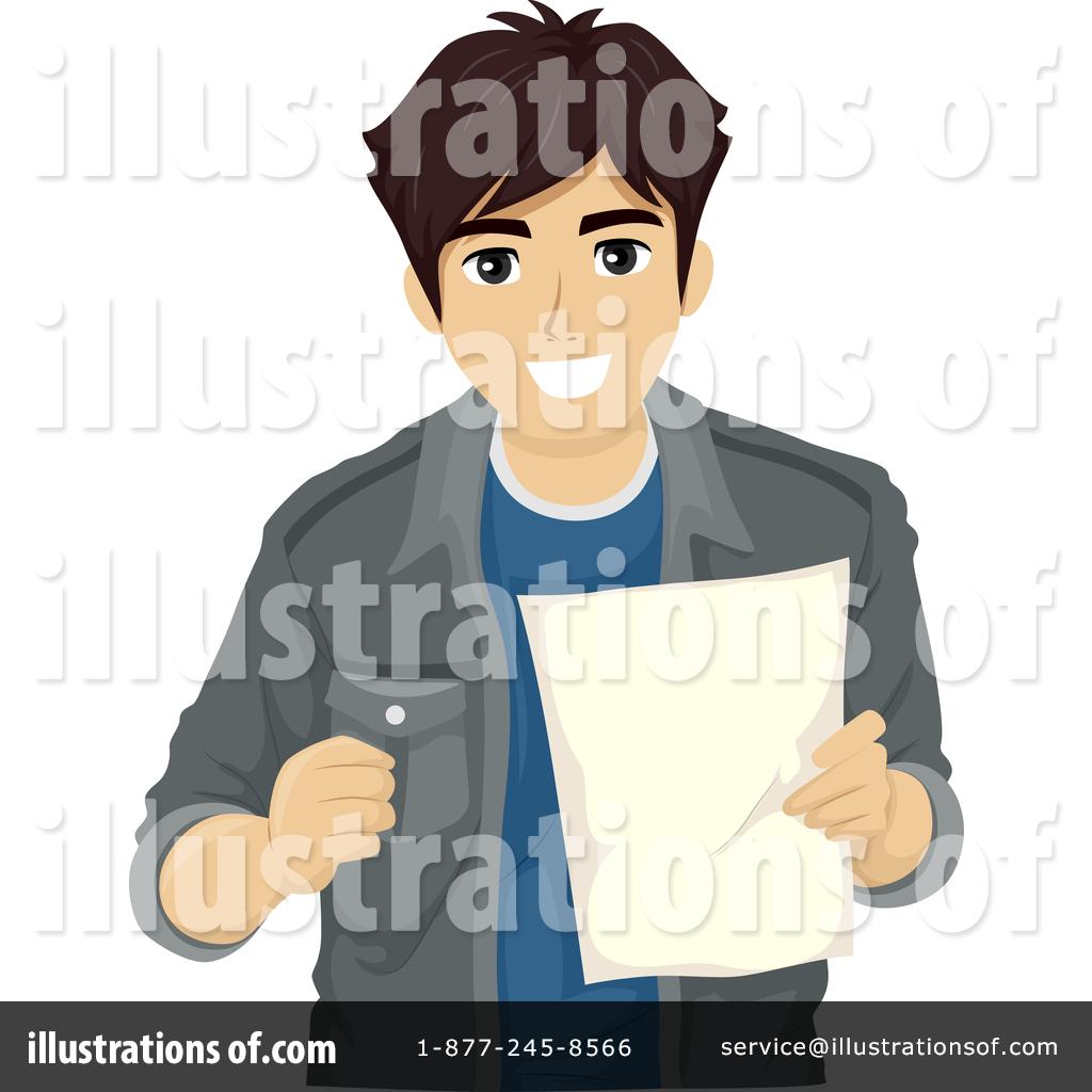 Teenage illustration by bnp. Boy clipart man