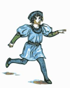 Boys clipart medieval. Boy illustration clip art