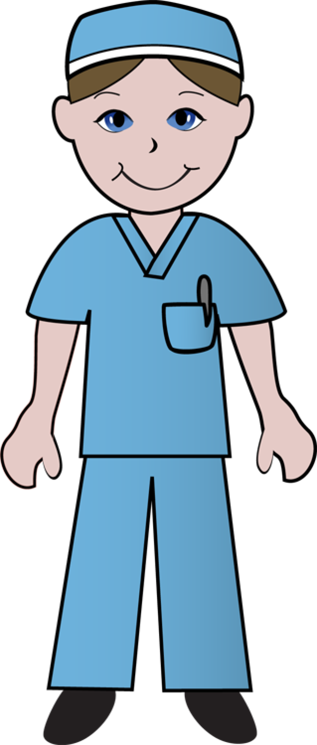 Lady clipart surgeon. Free clip art of
