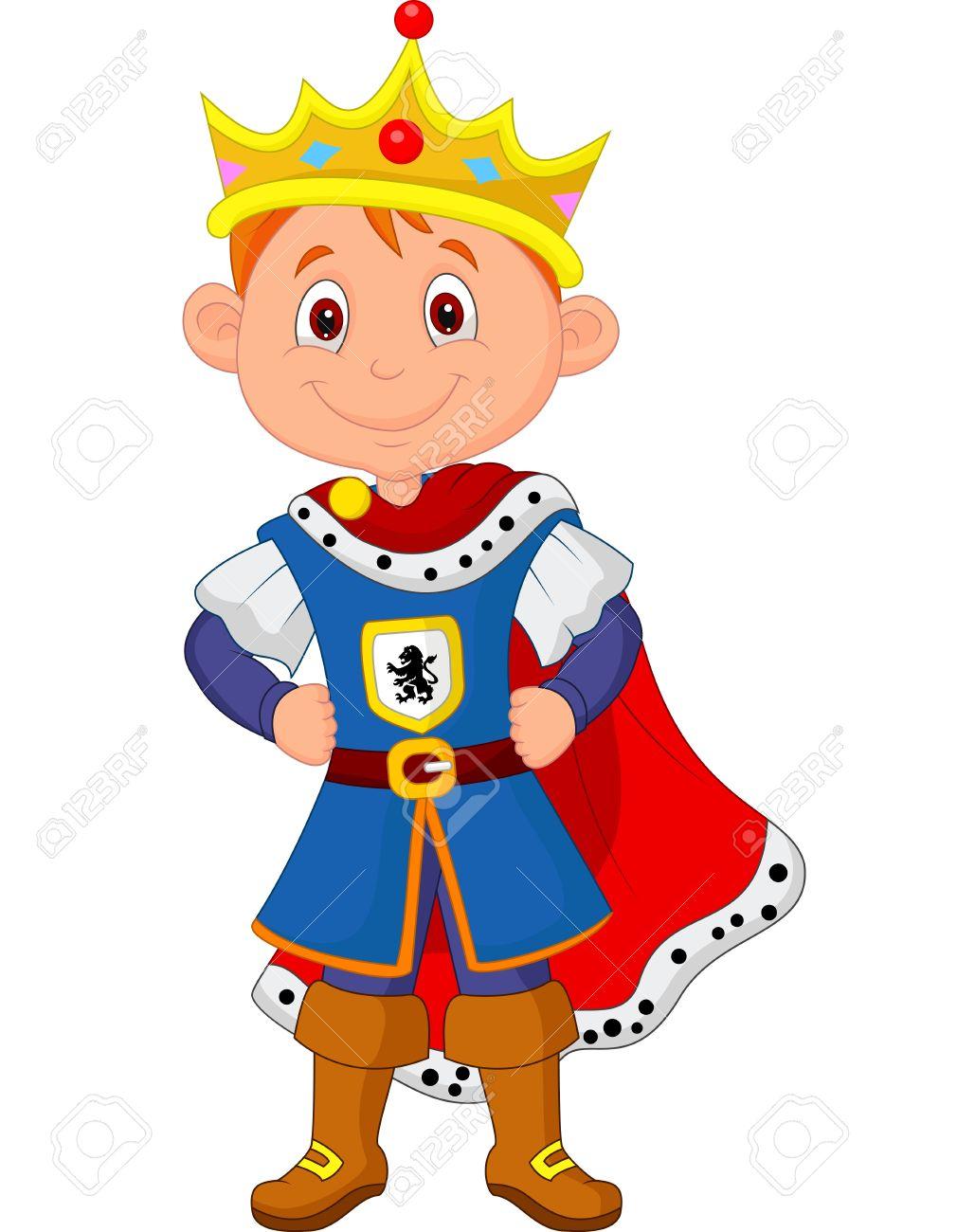 Cartoon st andrews methodist. Boy clipart prince