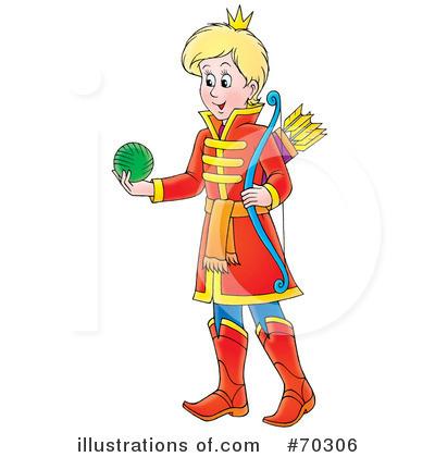 Boy clipart prince. Illustration by alex bannykh