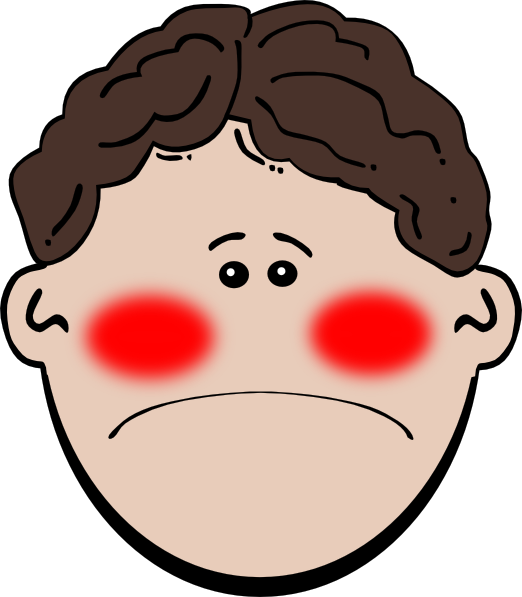 Sick clip art at. Person clipart nauseous