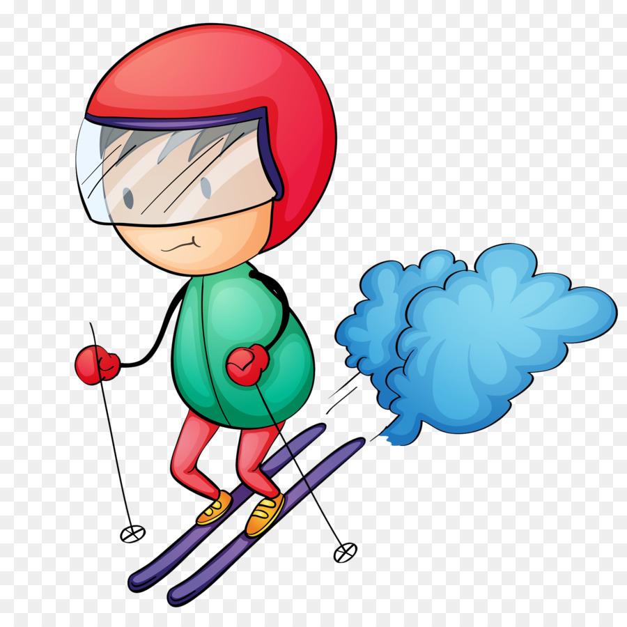 Slalom alpine clip art. Boys clipart skiing