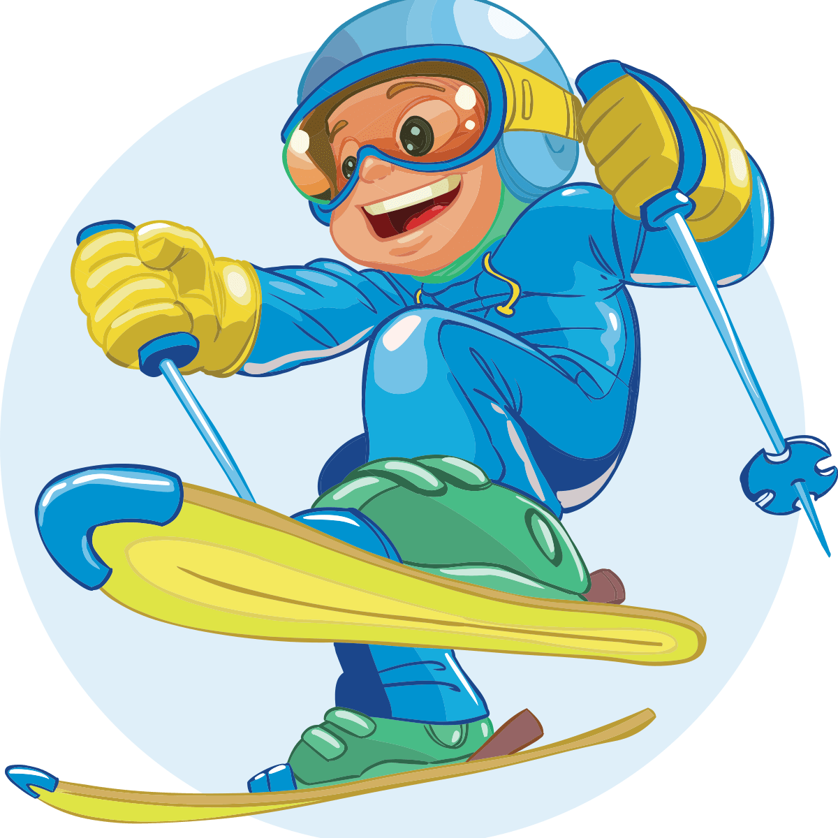 Finger lakes mountains discount. Skis clipart ski hill
