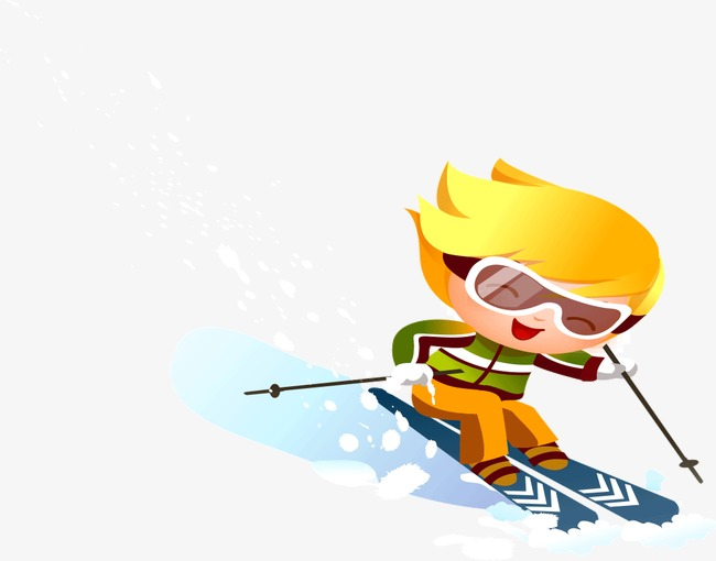 Boys clipart skiing. Ski boy little png