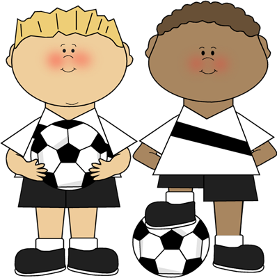 Athletic clipart boys. Soccer clip art image