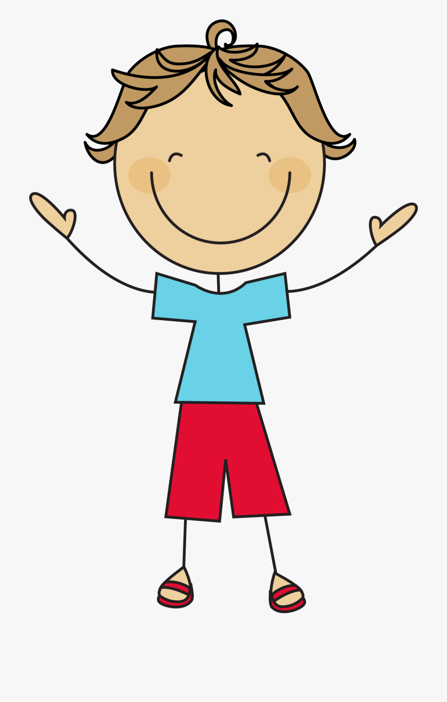 Boy clipart stick figure. A is very simple