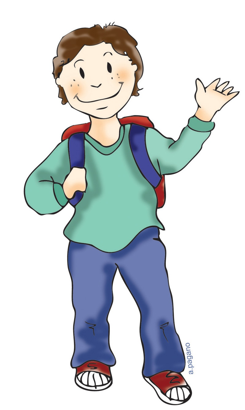 Clipart kid student. Free boy cliparts download