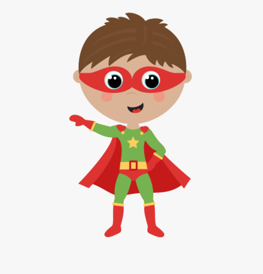 Free hatenylo com cute. Boy clipart superhero
