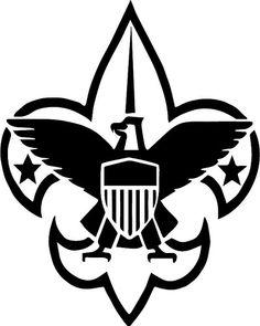 Scout emblem clip art. Boy clipart symbol