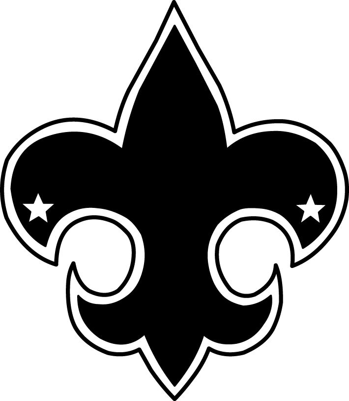 Boy clipart symbol. Scout emblem clip art