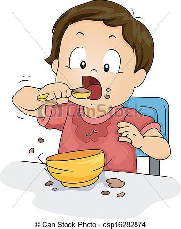 Boy clipart toddler. Dinner