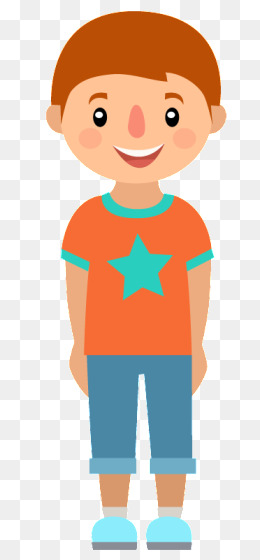Boy clipart transparent background. Boys with short hair