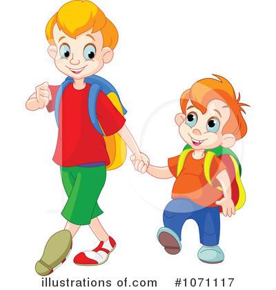 Boys clipart. School illustration by pushkin