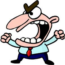 Mad guy views downloads. Boys clipart angry