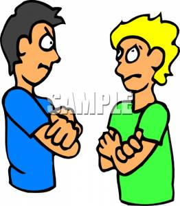 Boys clipart angry. Two arguing panda free