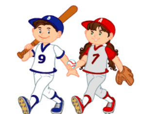 Boys clipart baseball. And friends free books