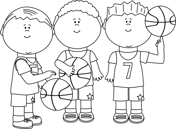 Google search clip art. Boys clipart black and white