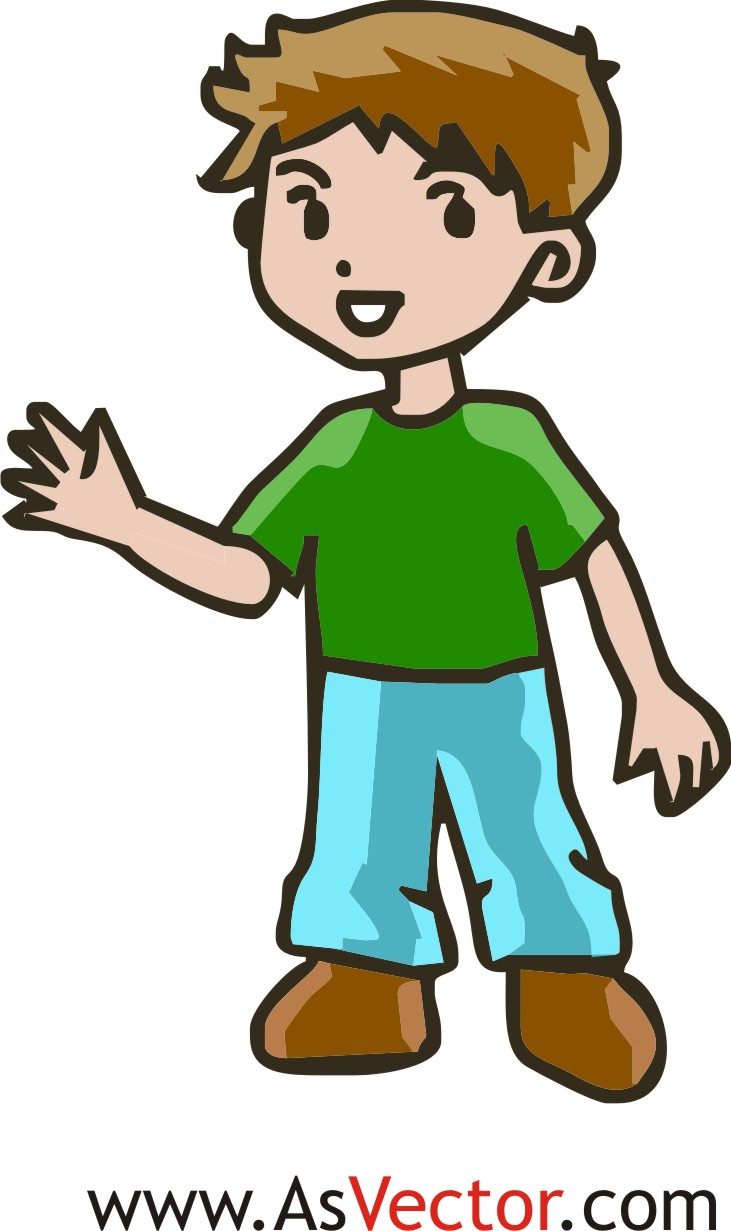 Boys clipart bored. Excited child clip art