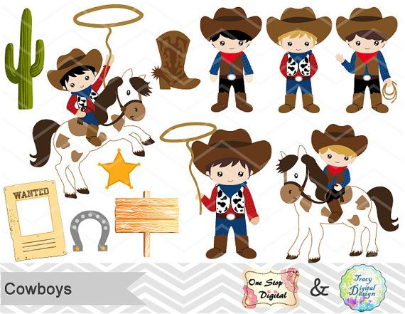 Boys clipart cowboy.  best images on