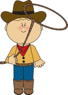 Boys clipart cowboy. Kid clip art pinterest