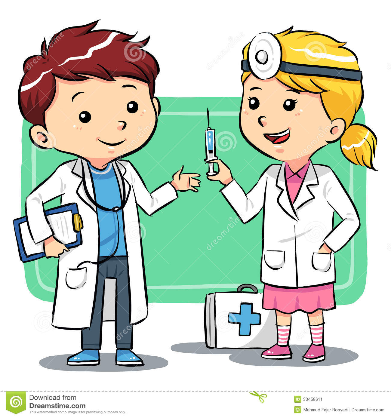 Boys clipart doctor. Picture for kids group