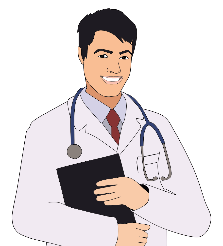 Onlinelabels clip art young. Professional clipart professional doctor