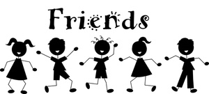 Boys clipart friendship. Free image acclaim friends