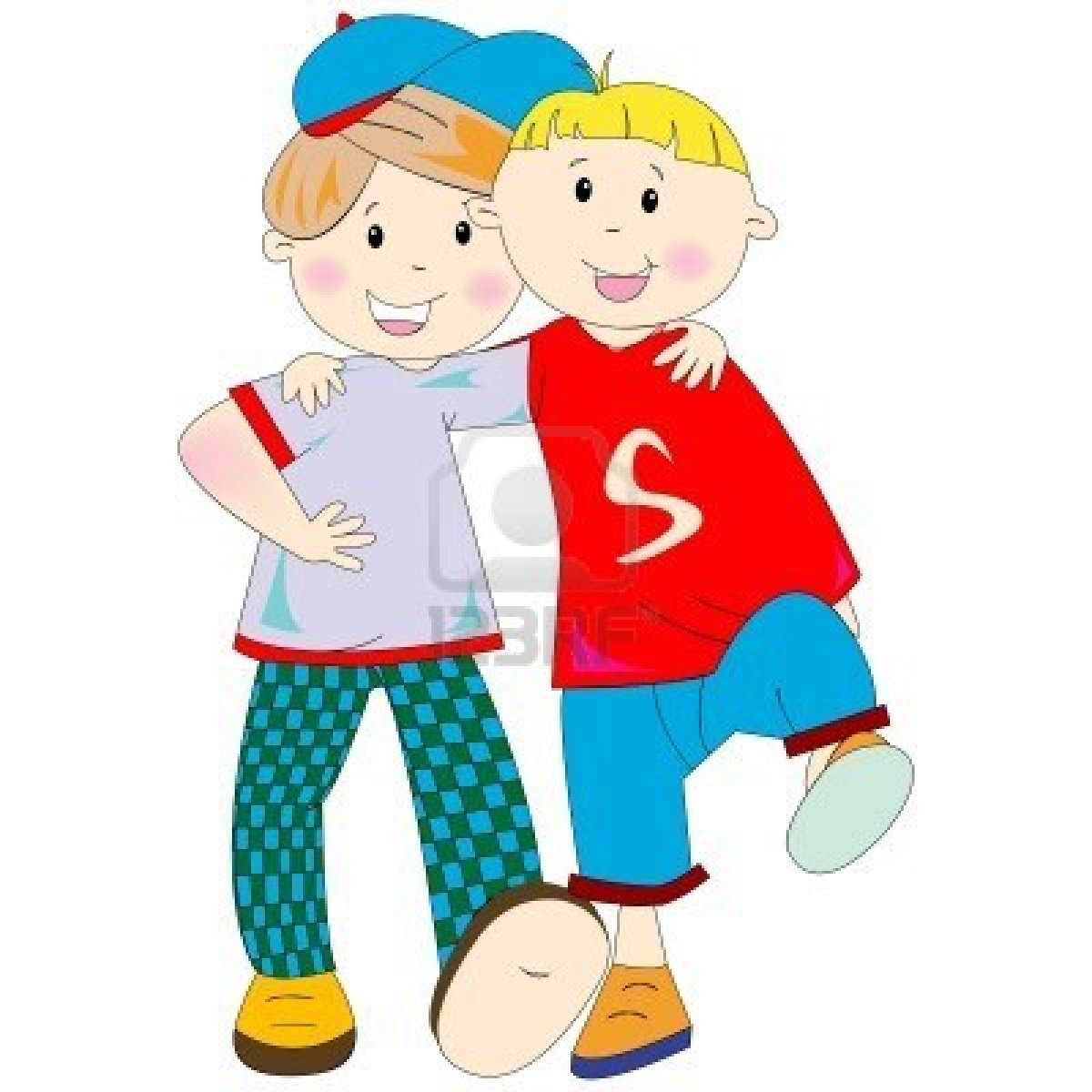 collection of me. Boys clipart friendship