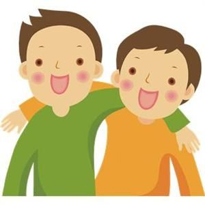 collection of high. Boys clipart friendship