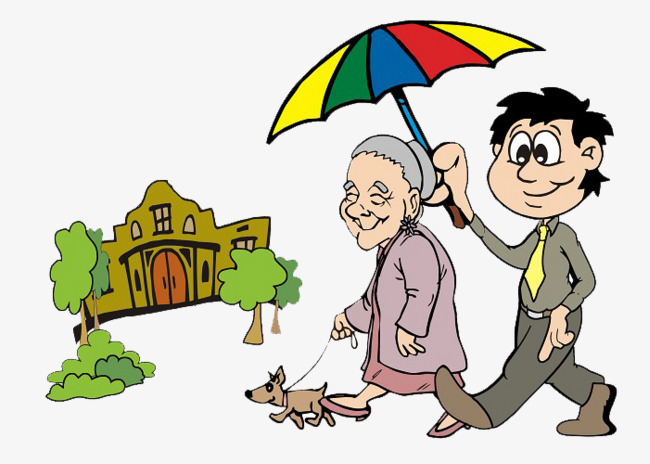 Umbrella old puppy png. Boys clipart man