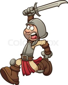 Stock vektor von roman. Boys clipart medieval