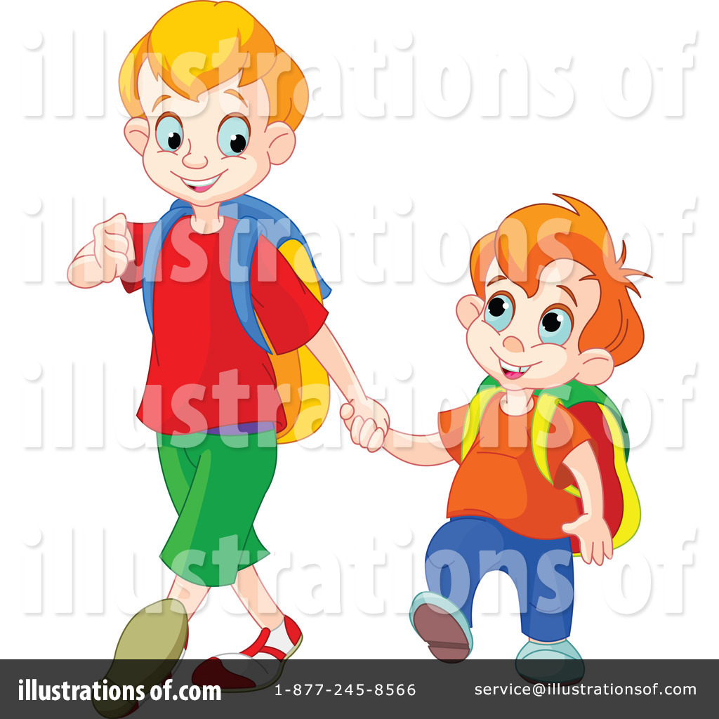Boys clipart person. School illustration by pushkin