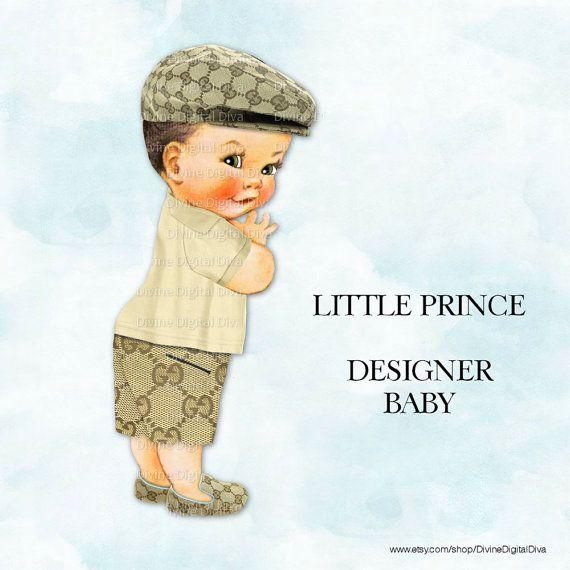 Boys clipart prince. Little cap shorts polo