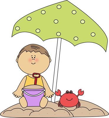 Boy playing on the. Boys clipart summer