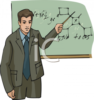 Boys clipart teacher. Picture of a pointing