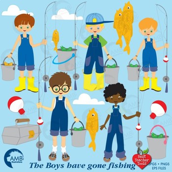 Fishing best tools amb. Boys clipart teacher